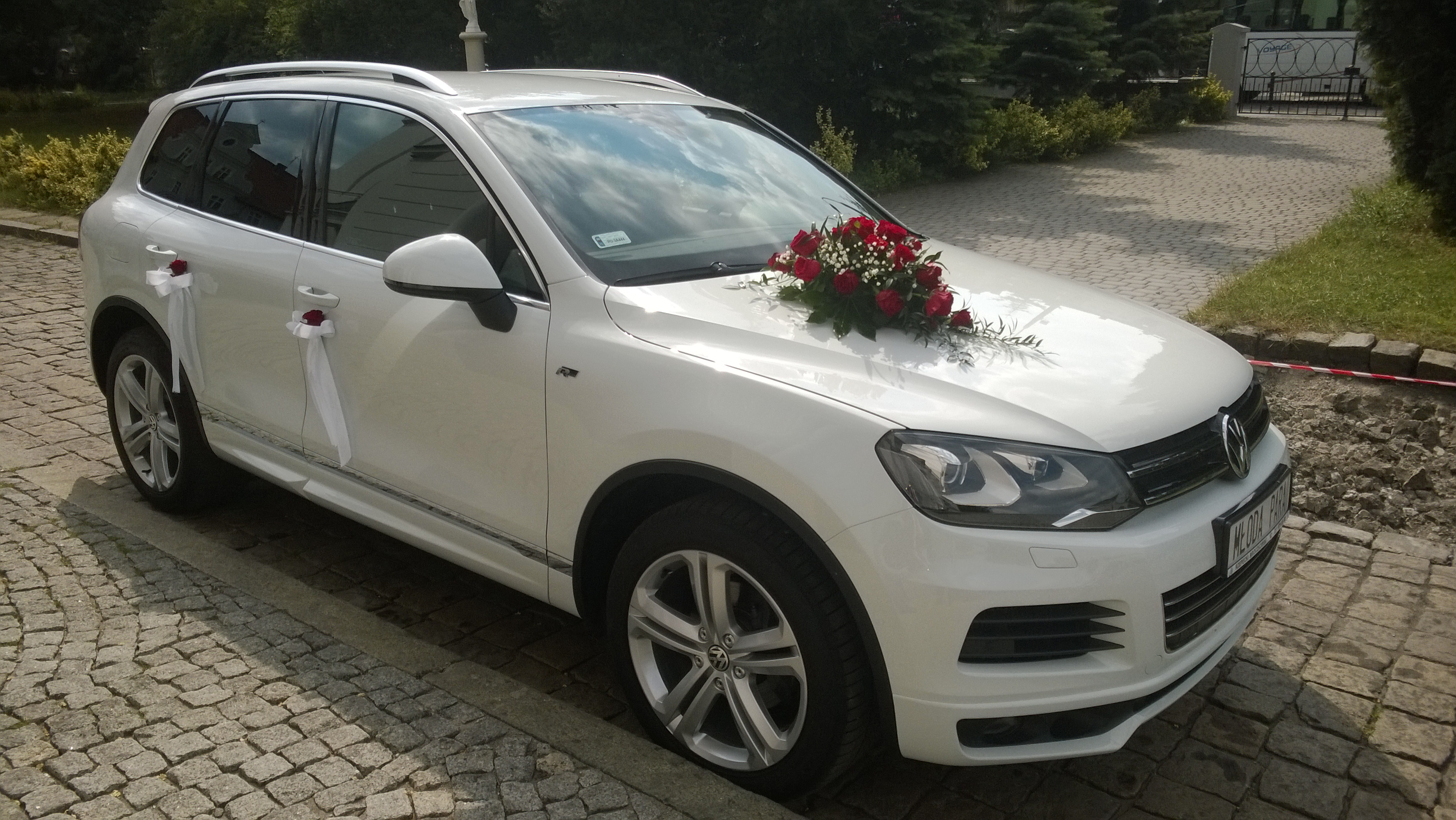Volkswagen Touareg Goście Vip Wesela